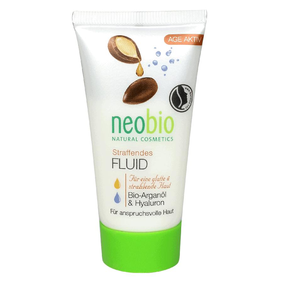 Neobio Feszesítő arcápoló fluid – Bio Argánolajjal és Hialuronsavval