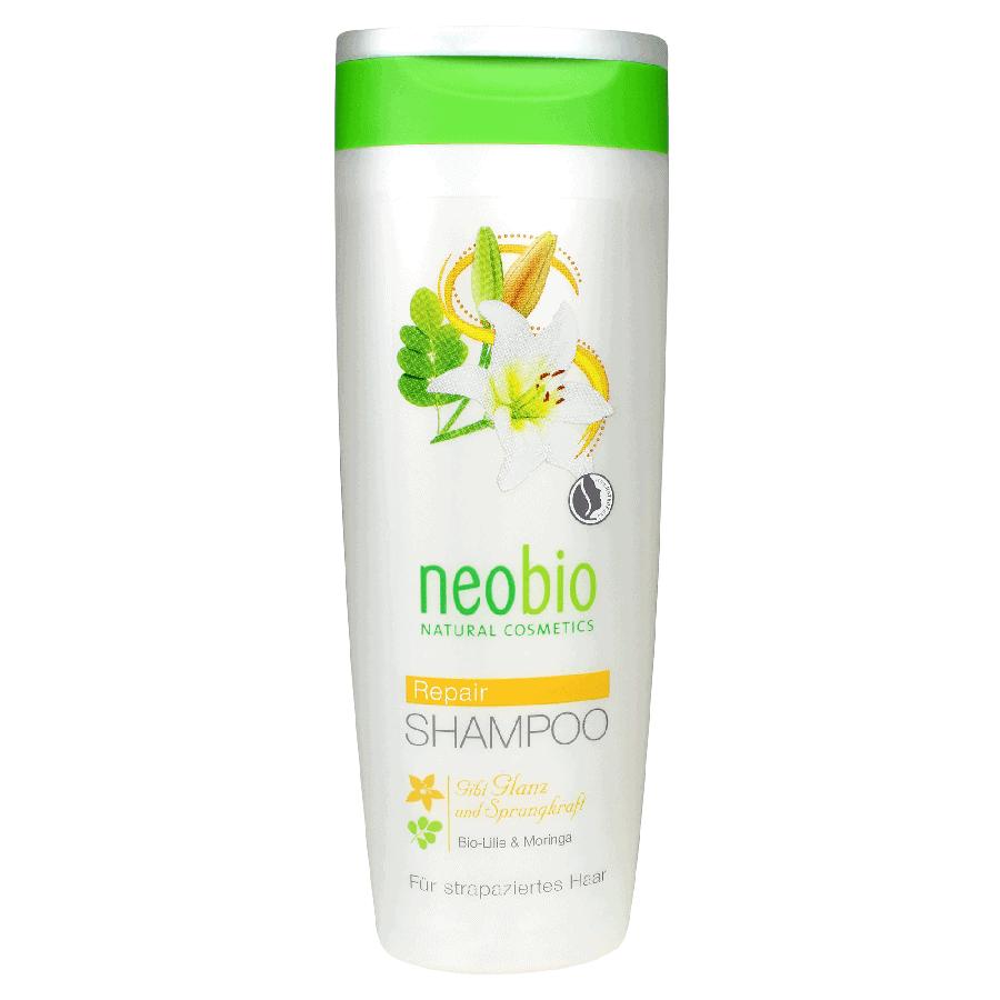 Neobio Regeneráló Sampon – BIO Fehérliliommal és Moringával