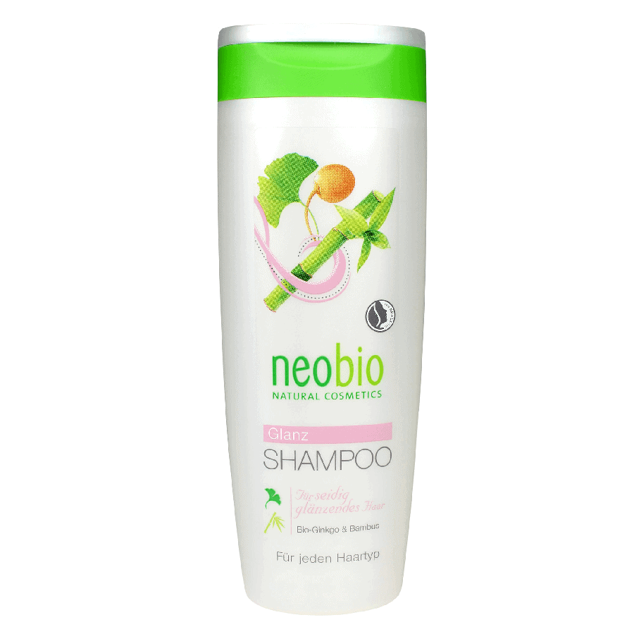 Neobio Selyemfény Sampon – Bio Ginkgo és Bambusz kivonattal