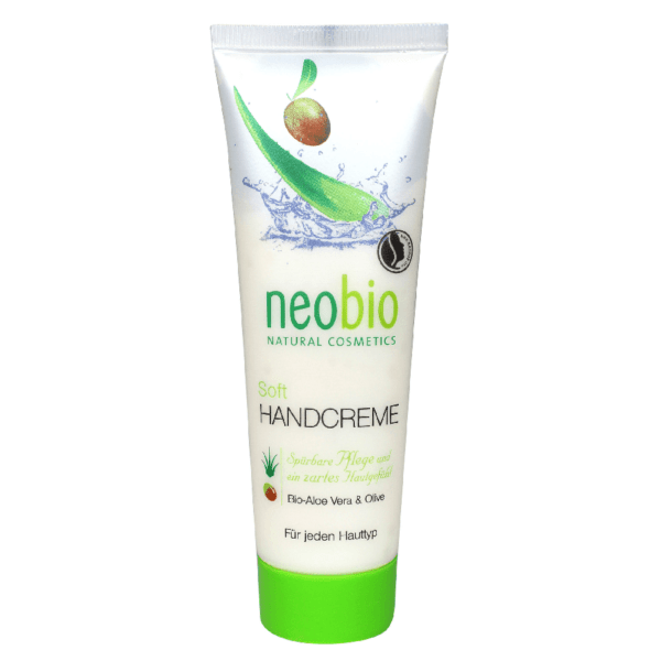 Neobio Soft Kézkrém – BIO Aloe verával és BIO Olívaolajjal