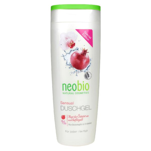 Neobio Tusfürdő Sensual – Bio Gránátalmával és Orchideával