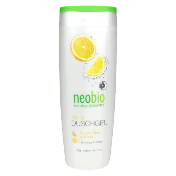 Neobio Tusfürdő Vitality – Bio Naranccsal és Bio Citrommal