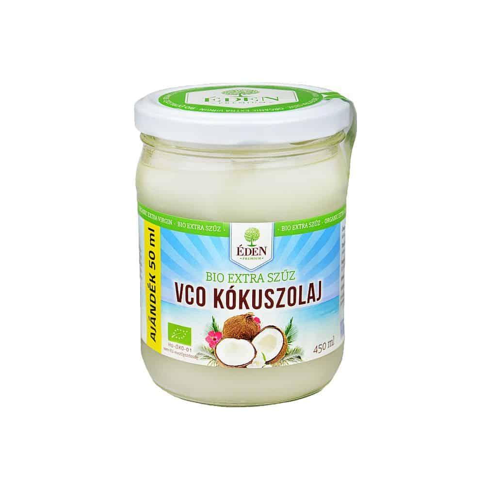 Bio extra szűz VCO kókuszolaj 450ml