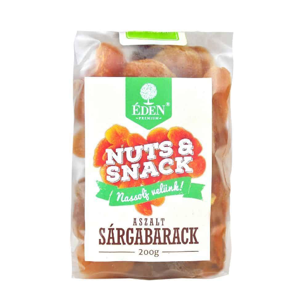 nuts&snack aszalt sárgabarack 200g
