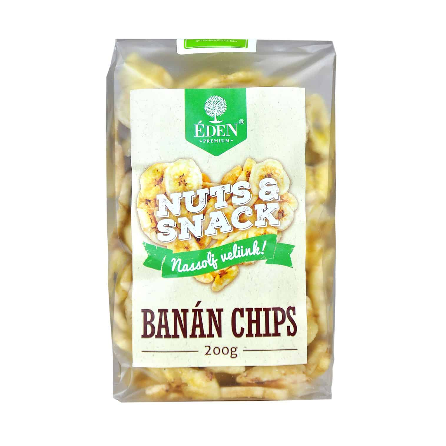 Nuts&Snack Banánchips 200g