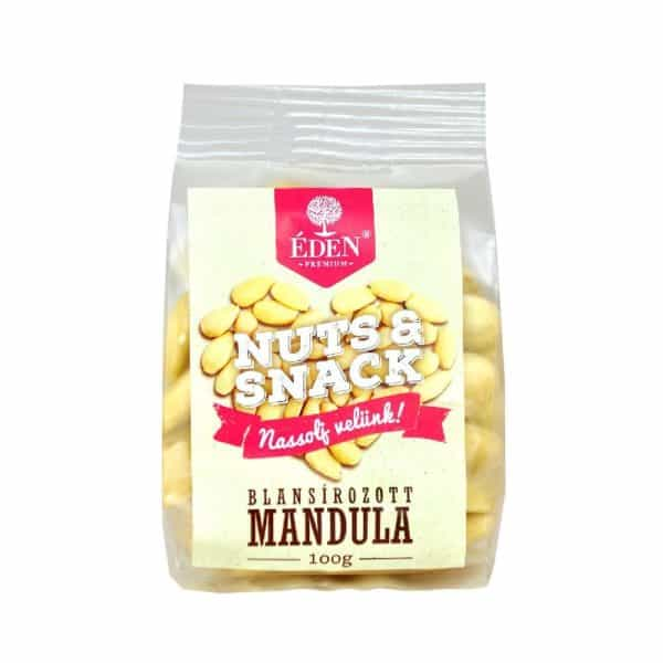 Nuts&Snack Blansírozott Mandula 100g