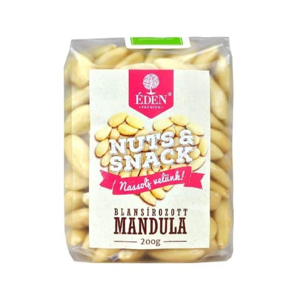 Nuts&Snack Blansírozott Mandula 200g