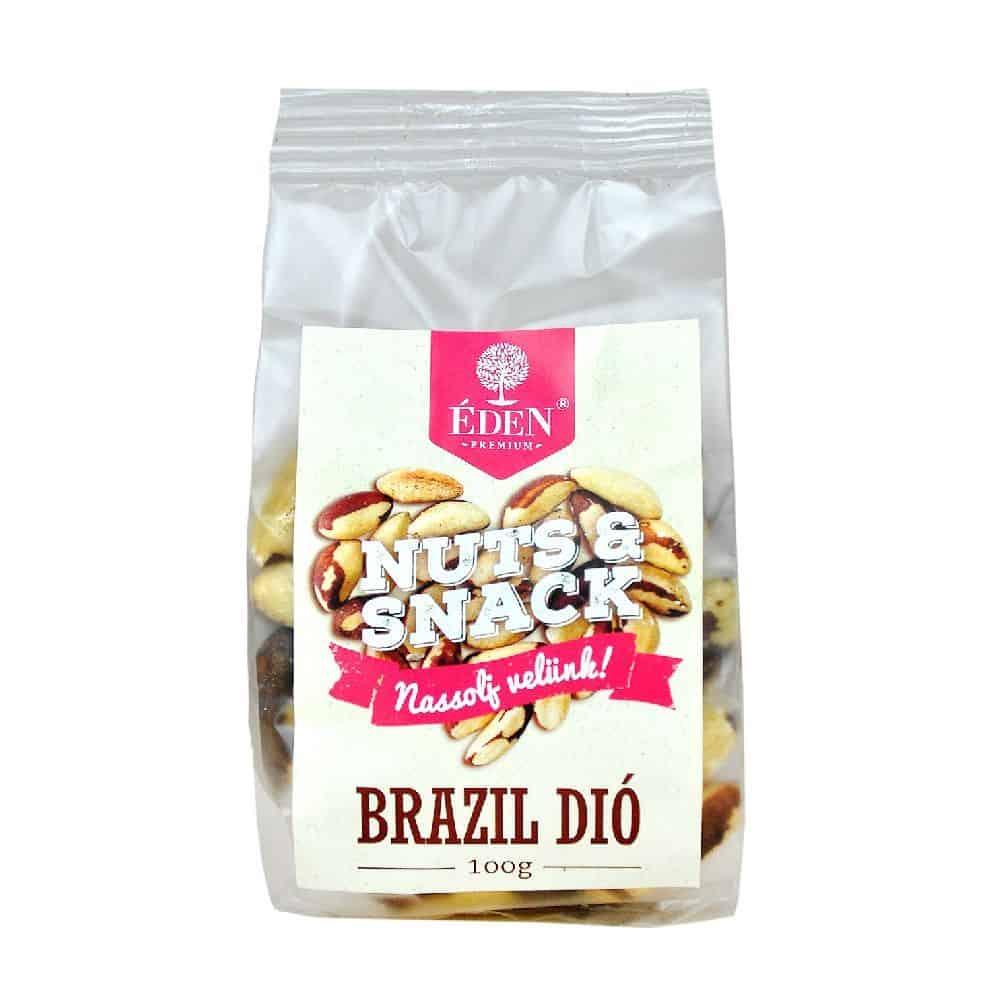 Nuts&Snack Paradió-Brazil Dió 100g