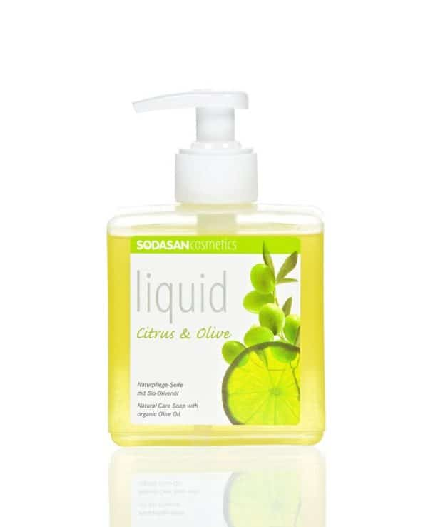 bio folyékony szappan citrom
