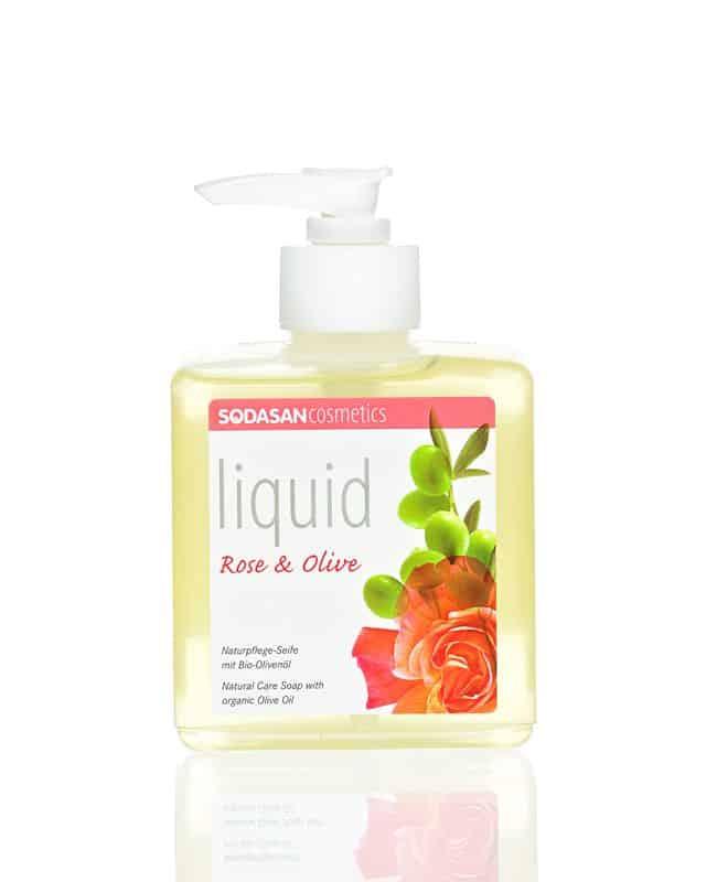 bio folyékony szappan rózsa