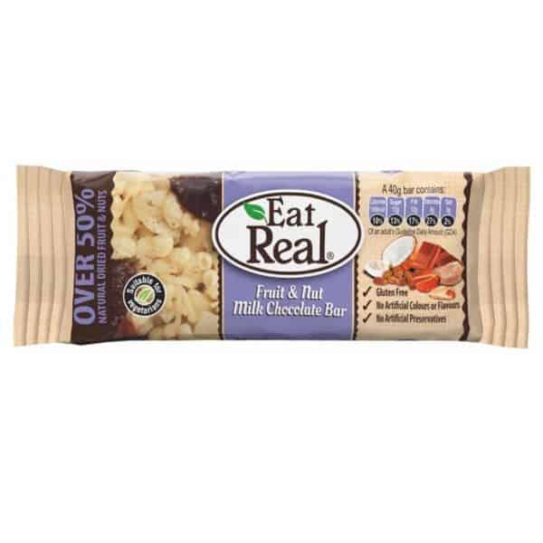 Eat Real Tejcsokoládés Müzliszelet 40g