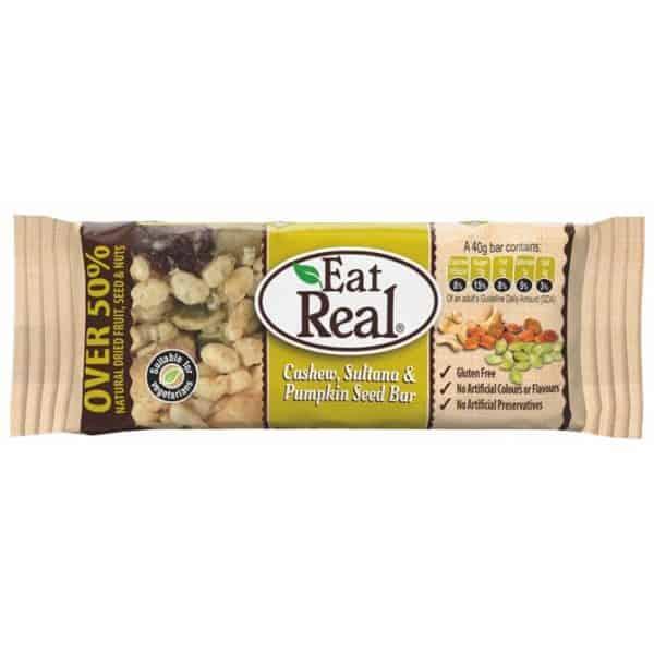 Eat Real Tökmagos Müzliszelet 40g