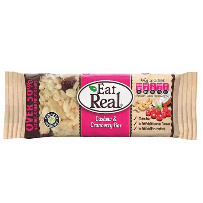 Eat Real Vörös Áfonyás Müzliszelet 40g