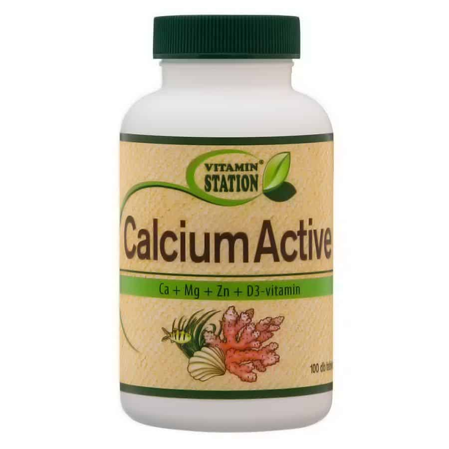 Vitamin Station Calcium Active 100db