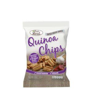 Eat Real Quinoa Chips Napon Szárított Paradicsom és Fokhagyma 30g