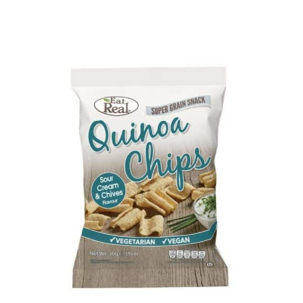 Eat Real Quinoa Chips Tejfölös Snidlinges 30g