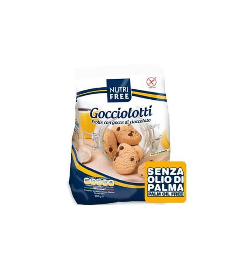 Nutri Free Keksz Csokidarabos Gocciolotti