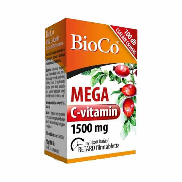 BioCo C-vitamin Mega 1500mg családi csomag