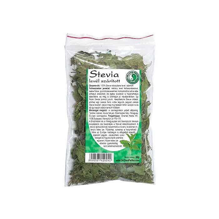 Dr. Chen Szárított Stevia Levél