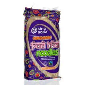 King Soba Gluténmentes Pad Thai Tészta 200g