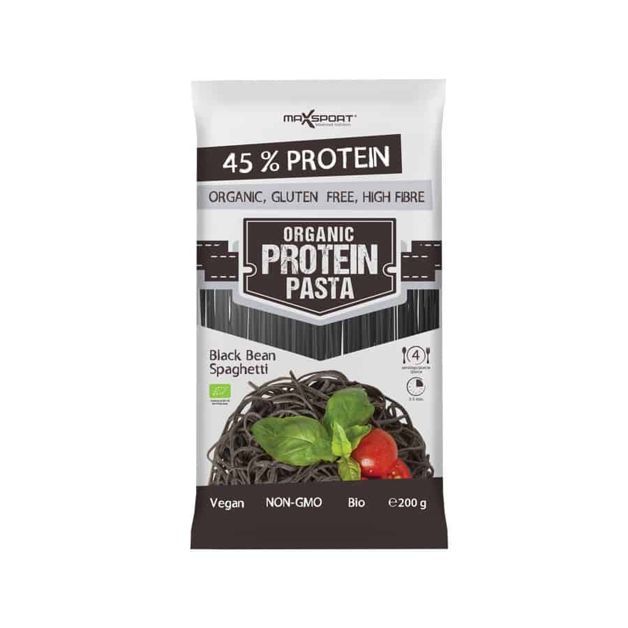 Max Sport Protein Bio Fekete Bab Spagetti Tészta