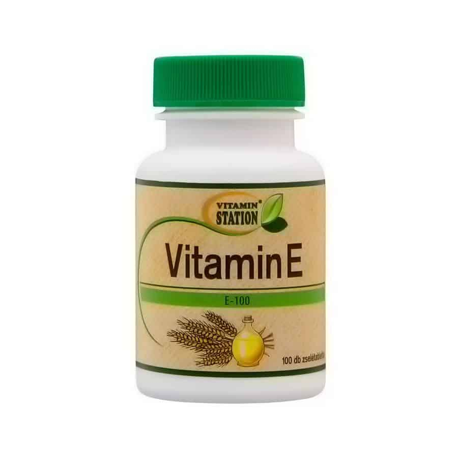 Vitamin Station E-vitamin 100db