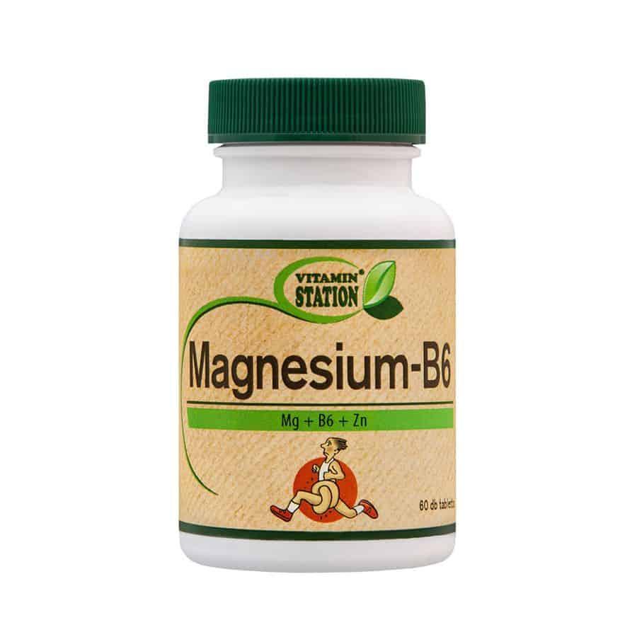 Vitamin Station Magnézium-B6
