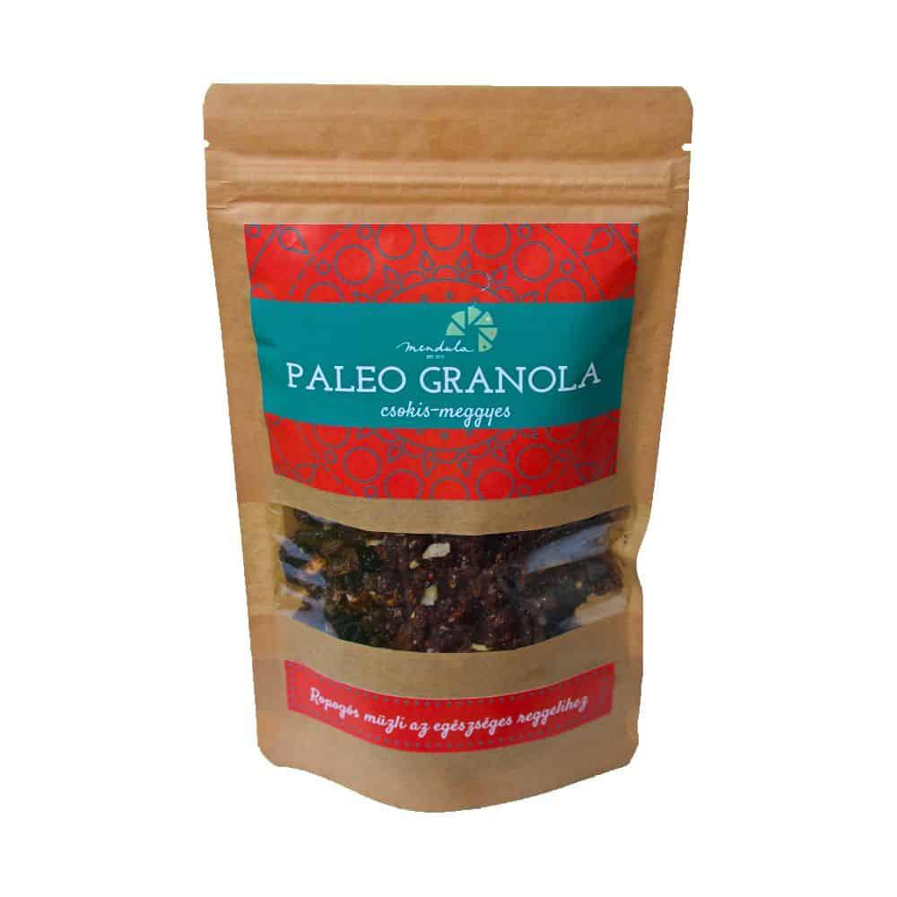 Mendula Paleo Csokis-Meggyes Granola 120g