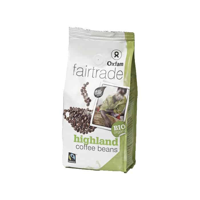 Oxfam Fair Trade Bio 100% Arabica Szemes Kávé