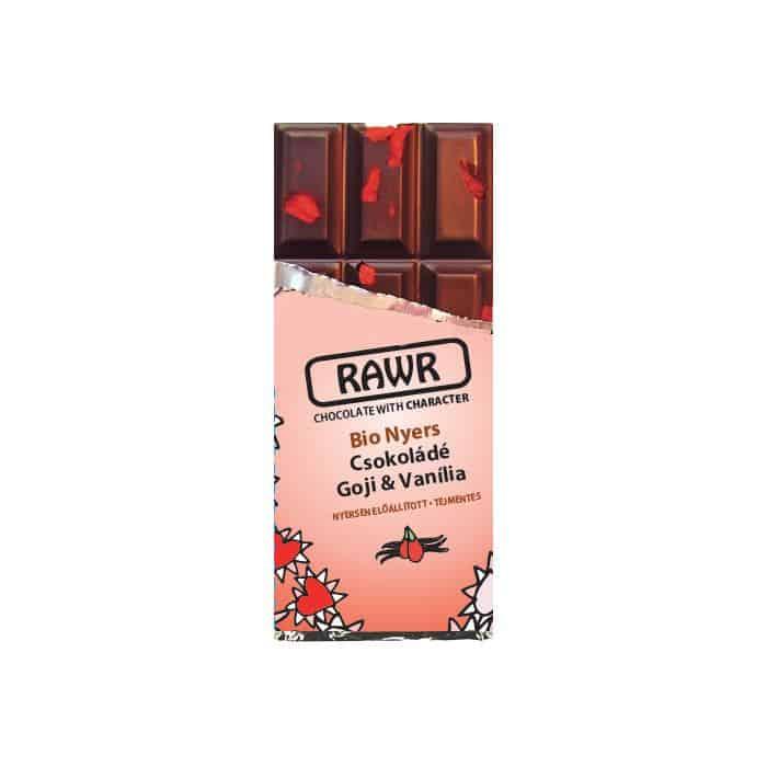Rawr Bio Nyers Csokoládé Goji Vanilia