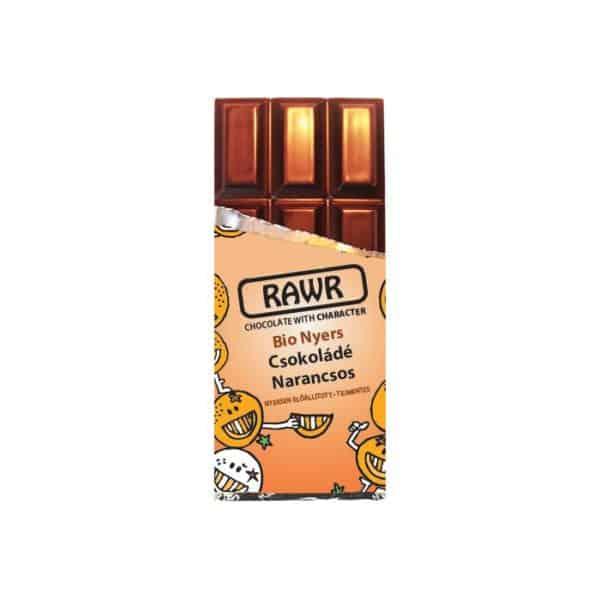 Rawr Bio Nyers Narancsos Csokoládé