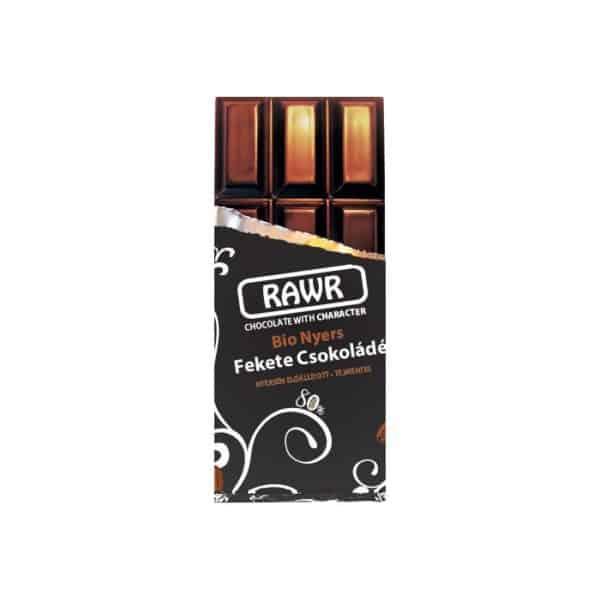 RawR Bio Nyers Étcsokoládé