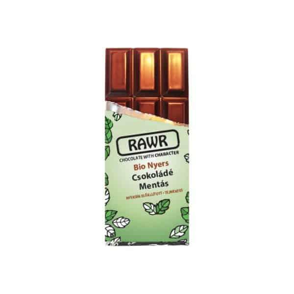 Rawr Bio Nyers Mentás Csokoládé