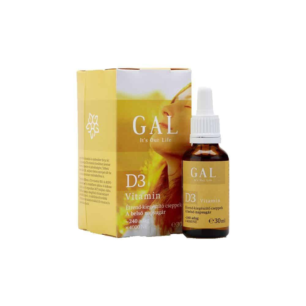 Gal D3 vitamin csepp 30ml
