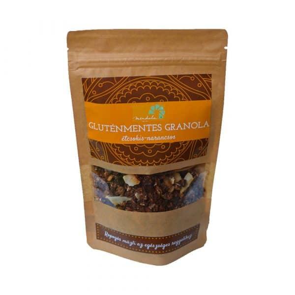 Mendula étcsokis-narancsos granola 120g