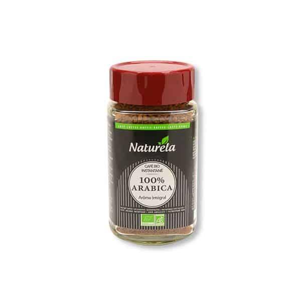 Naturela 100% bio arabica instant kávé 100g