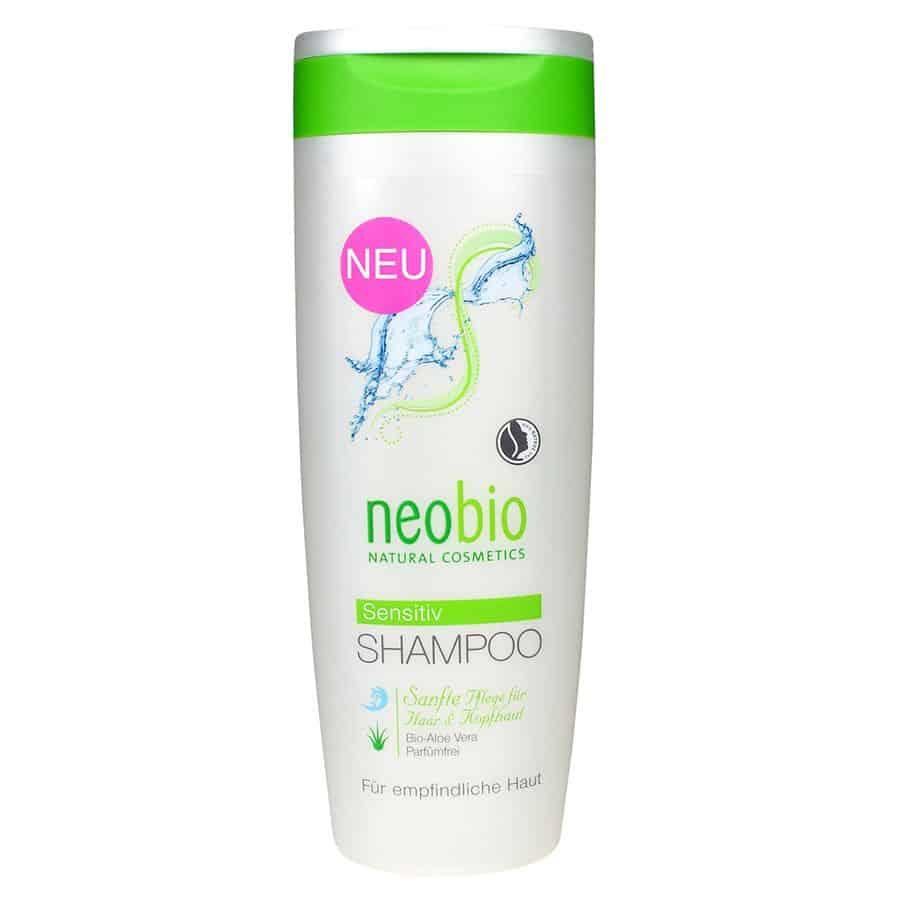 Neobio Sensitive Sampon Érzékeny Fejbőrre Bio Aloe Verával 250ml