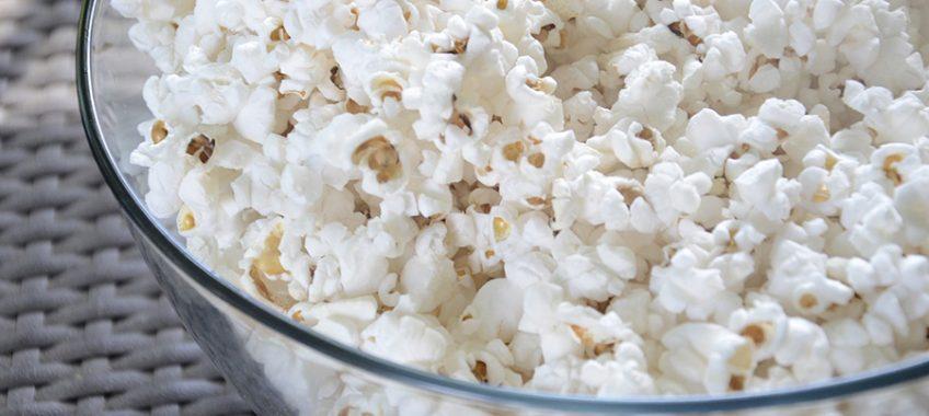 stresszevés popcorn