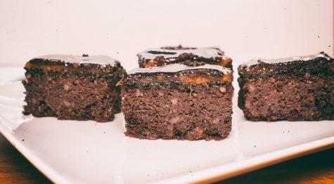 Diós-csokoládés kocka