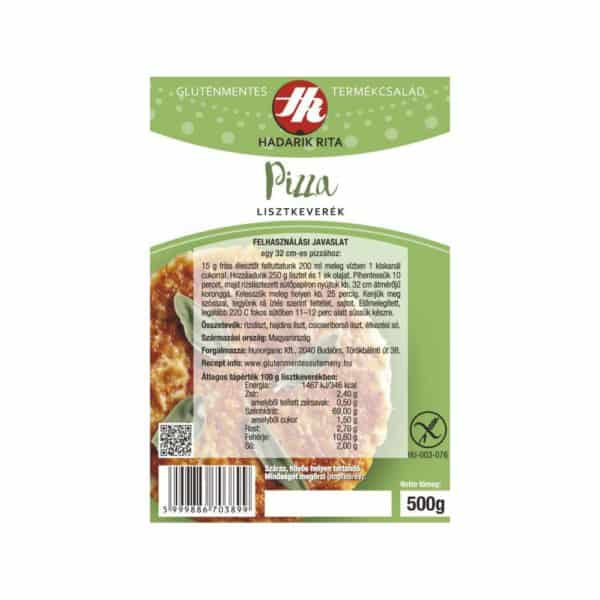 Hadarik Rita pizza lisztkeverék 500g