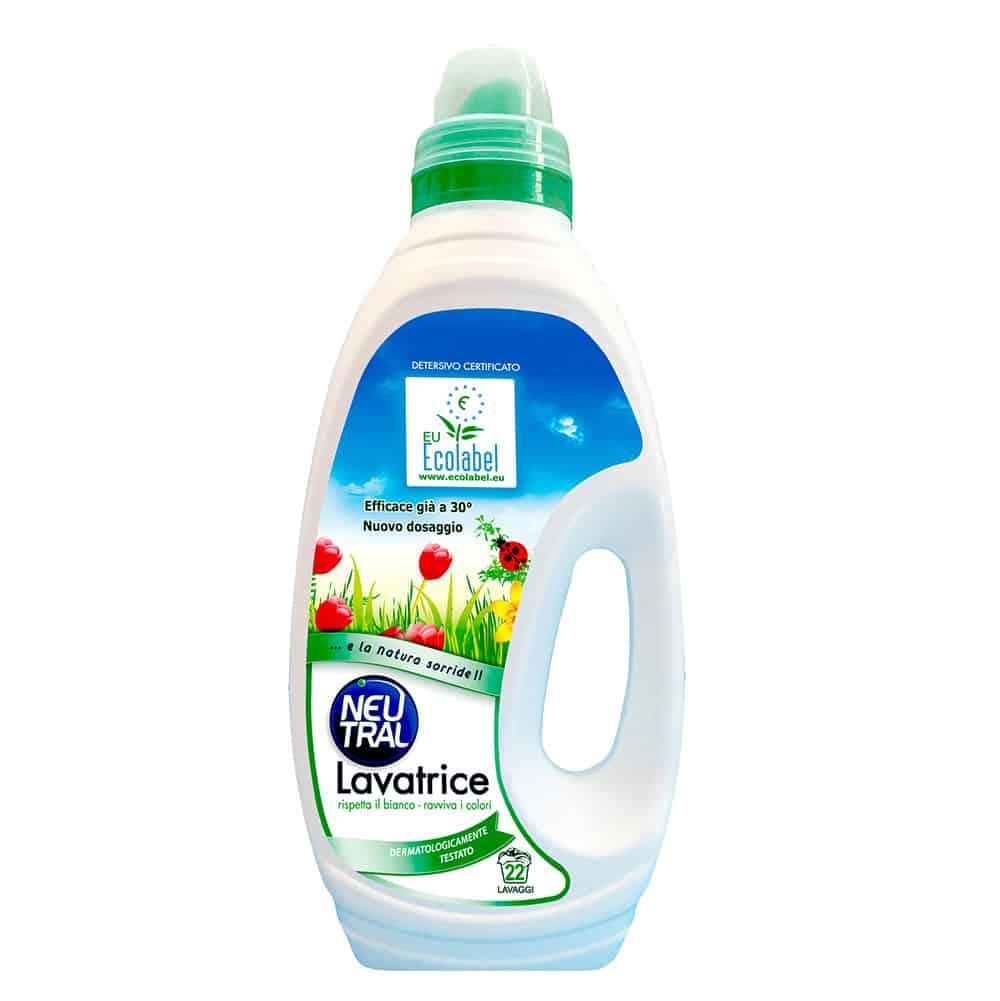 Neutral Green folyékony mosószer színes és fehér ruhákhoz 1650ml