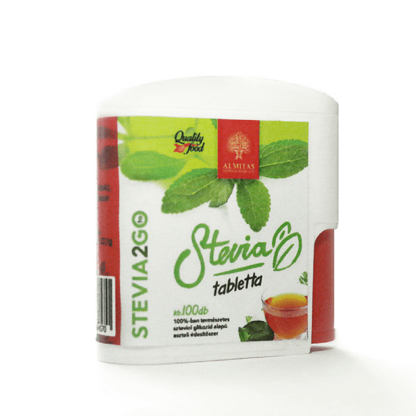 Almitas stevia tabletta 100db