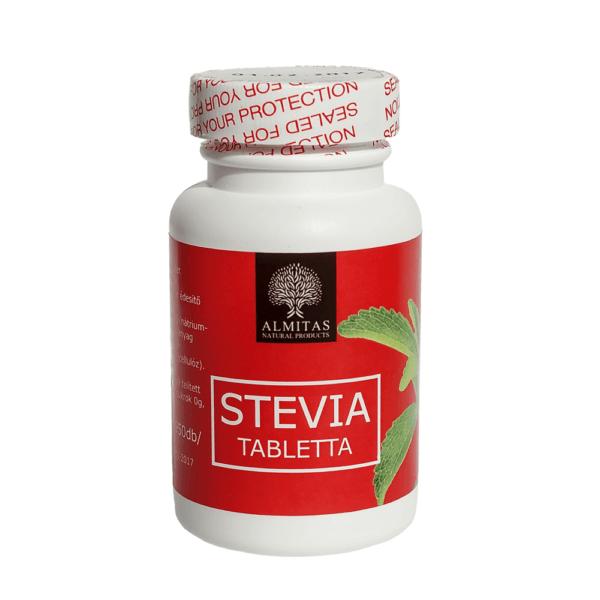 Almitas stevia tabletta 60g min. 950db