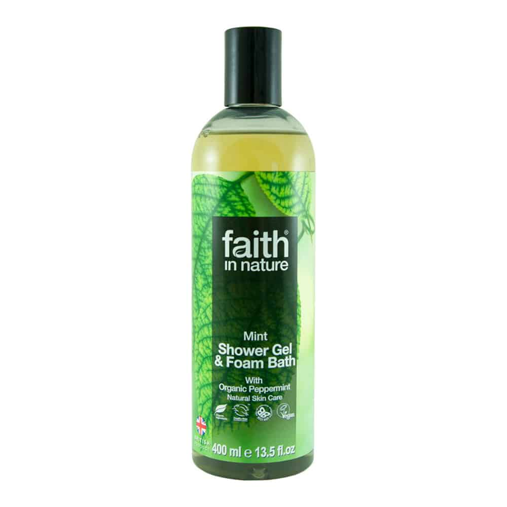 Faith in nature borsmenta tusfürdő 400ml