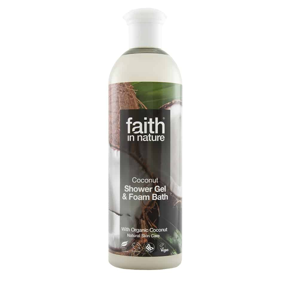 faith in nature kokusz tusfurdo 400ml