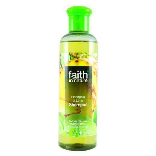 faith in nature ananász és lime sampon 250ml