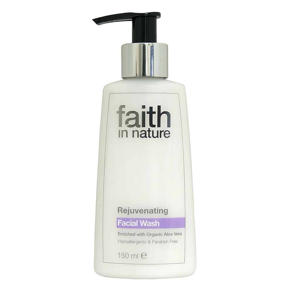 Faith in nature fiatalító arclemosó 150ml