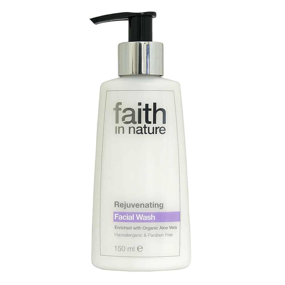 Faith in nature fiatalító arclemosó 150ml