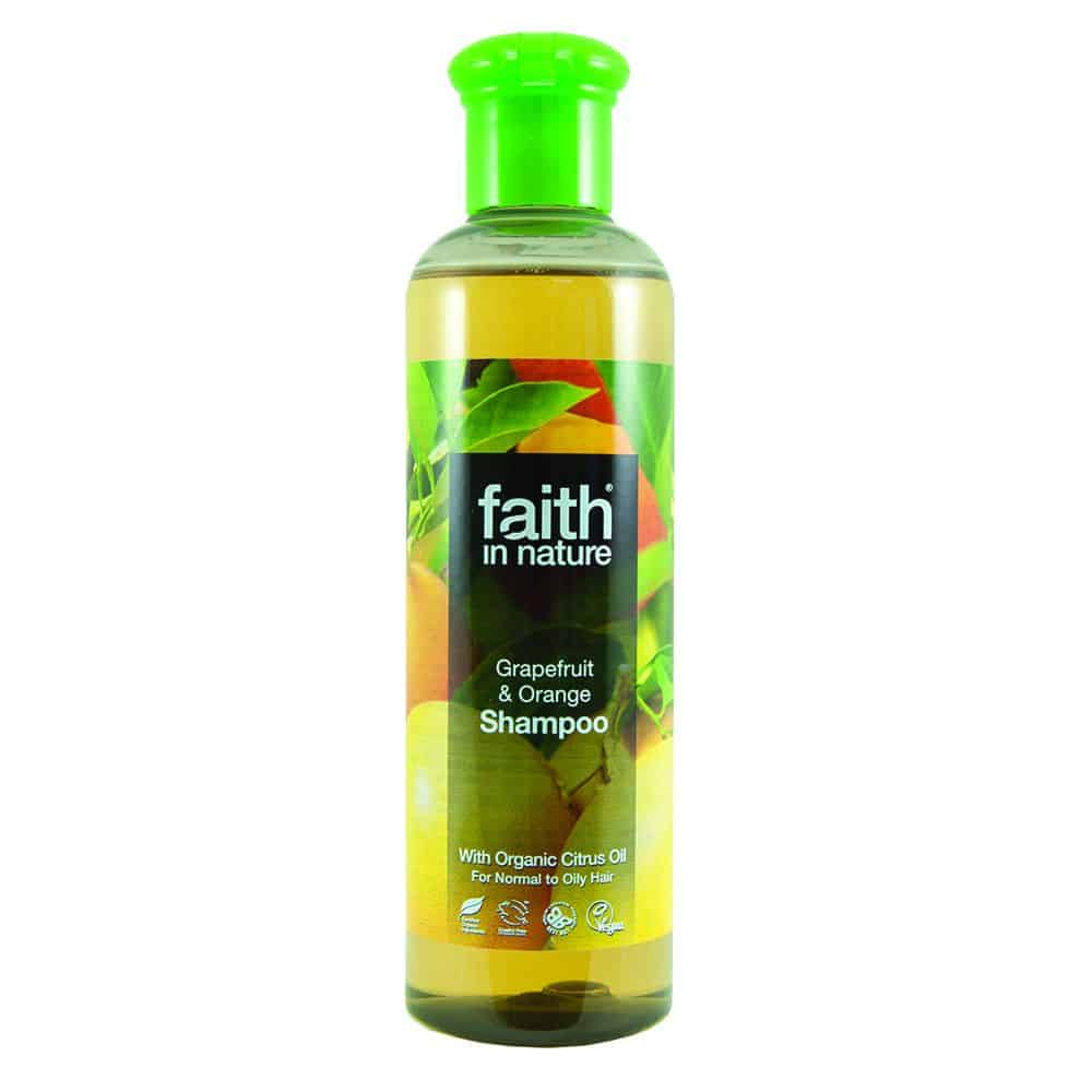 faith in nature grapefruit és narancs sampon 250ml