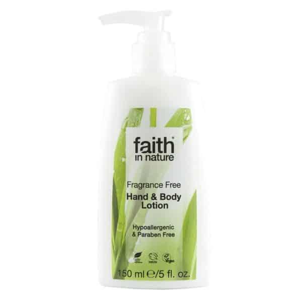 faith in nature illatmentes kéz és testápoló 150ml
